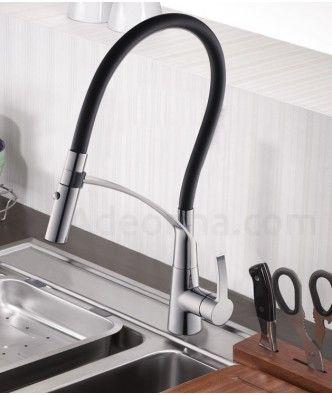 mitigeur cuisine design avec douchette extractible octopus - Mitigeur Cuisine Retro Avec Douchette