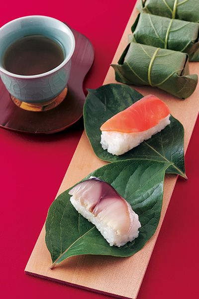 KAKINOHAZUSHI is a a kind of Sushi which has slice of mackerel, salmon and small…