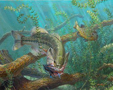 Wallpaper Largemouth Bass