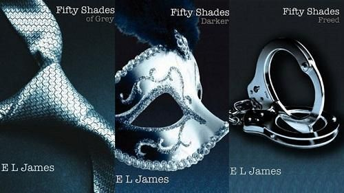 Grey books...Fifty Shades Of Grey Trilogy