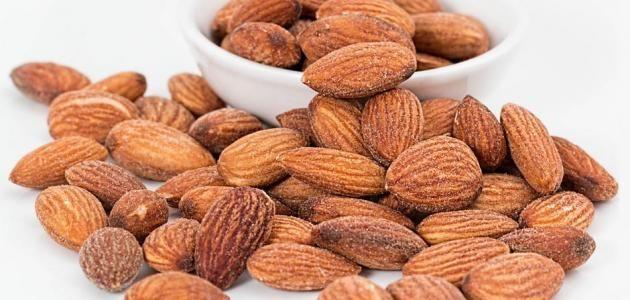 فوائد اللوز لجسم الإنسان Health Benefits Of Almonds Almond Benefits Raw Food Diet