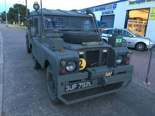 Land Rover series 3 & trailer tax-exempt, army gea For Sale (1972)