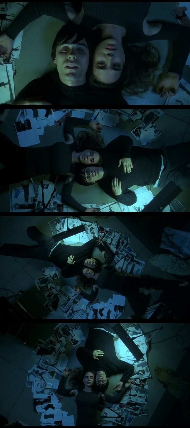 Requiem for a Dream(2000) Directed by Darren Aronofsky.