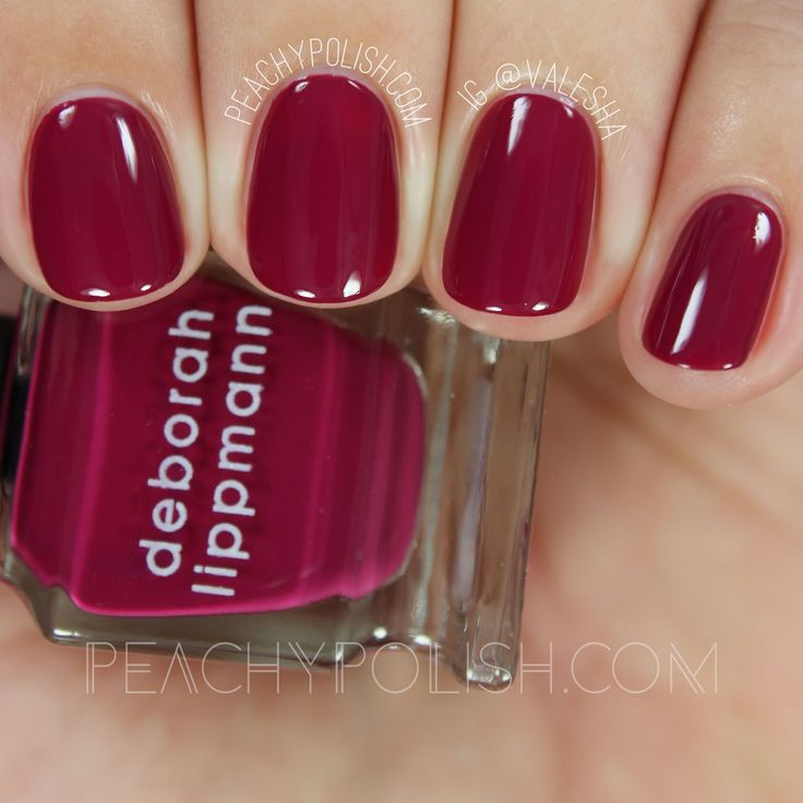 Deborah Lippmann Raspberry Jam | Very Berry Mini Set | Peachy Polish