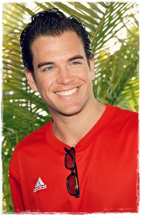 Michael Weatherly NCIS   So cool he is a bit of a nerd.... took awhile to like him.