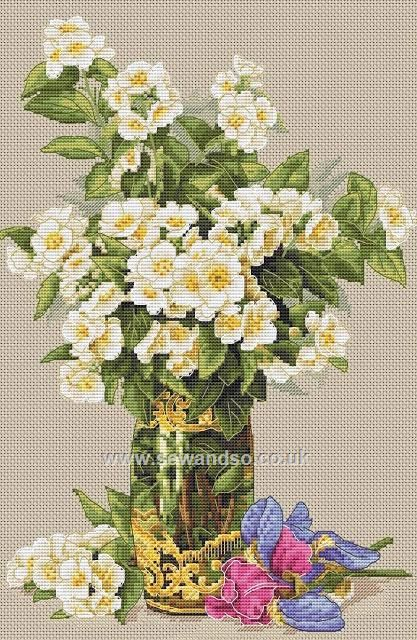 Buy+Sweet-Scented+Bouquet+Cross+Stitch+Kit+Online+at+www.sewandso.co.uk