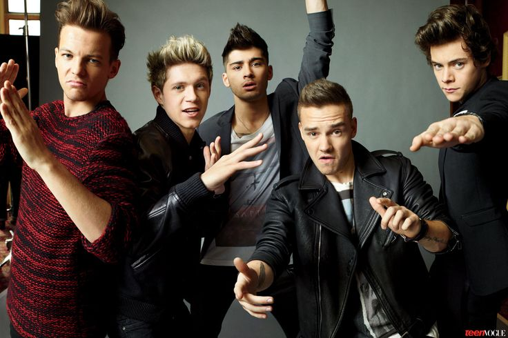"One Direction 2013 Photo Shoot | One Direction Is Adorable In Teen Vogue: ""We're Not Really That Diva"""