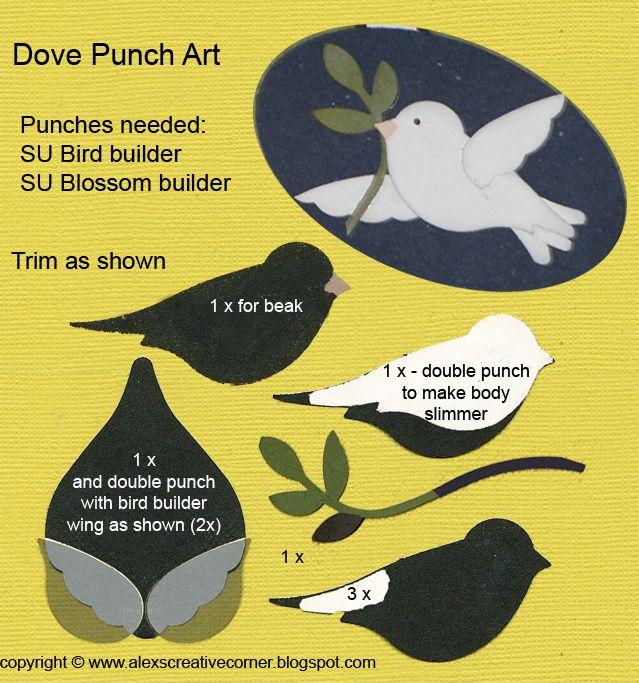 Alex's Creative Corner: Dove Christmas Card
