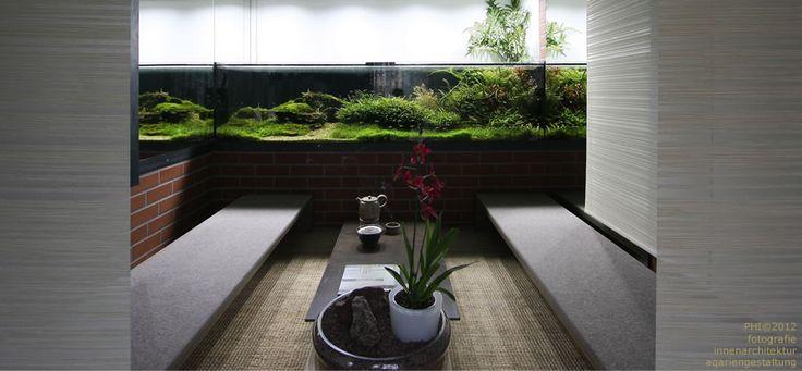 Aquarium, Design, Raum, innenarchitektur, Zen, meditation, Chi, www.aqa-qi.de