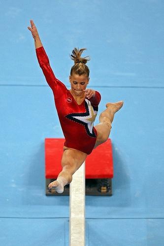 Alicia Sacramone (United States) by jodfevic, via Flickr  gymnast, gymnastics