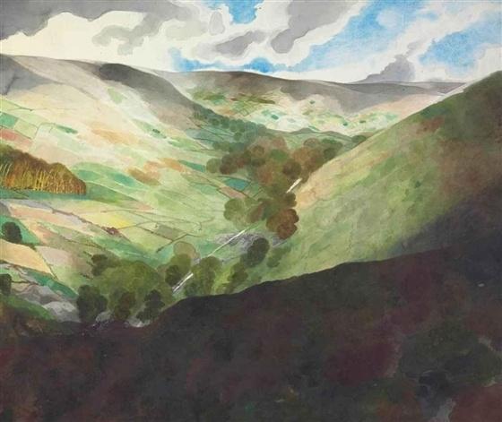Edward Burra landscape