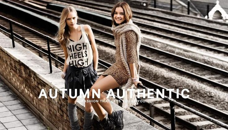 H Authentic Collection FW 2011 Cara Delevingne & Barbara Palvin