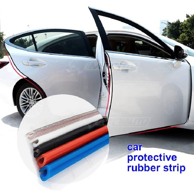 Car Door Protection Strips Rubber Edge Doors Moldings Side