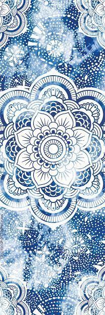 Mandala Yoga Mat by vagabondgoodsyoga on Etsy                                                                                                                                                                                 More