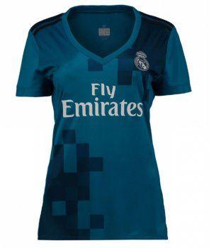 Women Real Madrid C.F 2017-18 Season RM Third Shirt [K770]