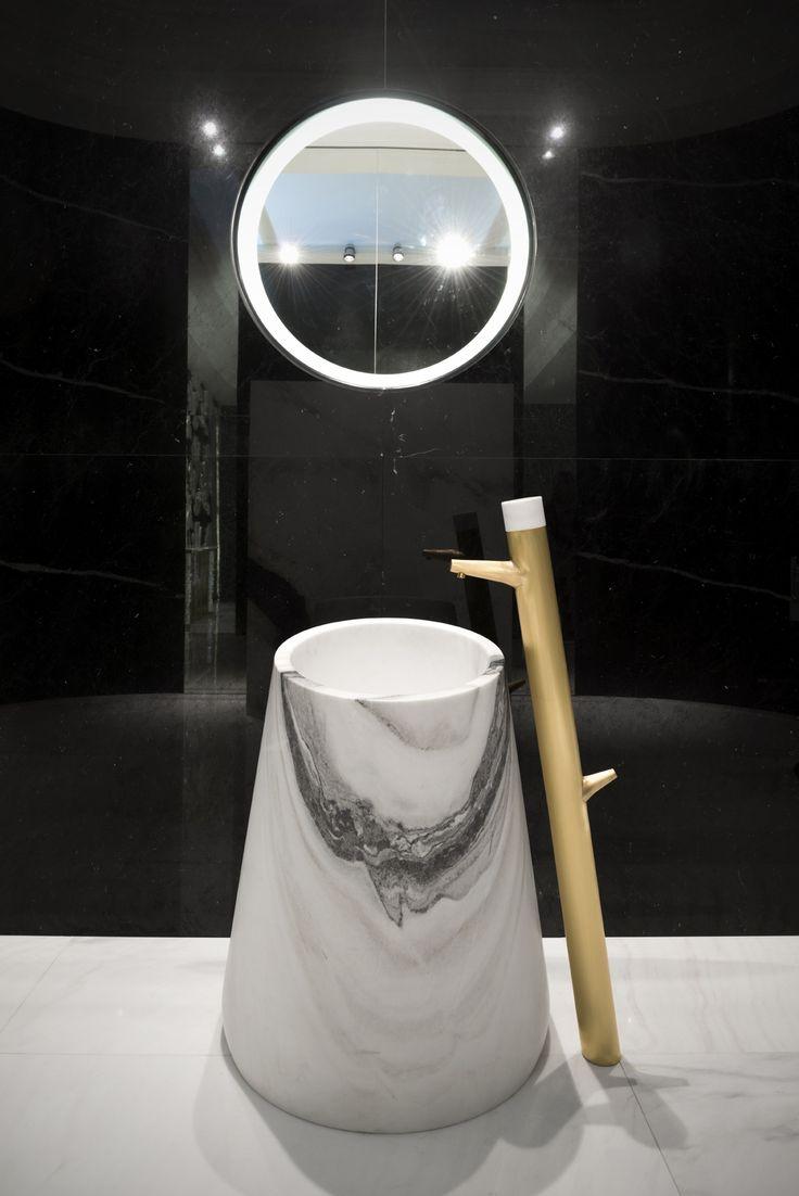 Alessandro La Spade for Antolini | Sir/A edition | MarbleDrop washbasin