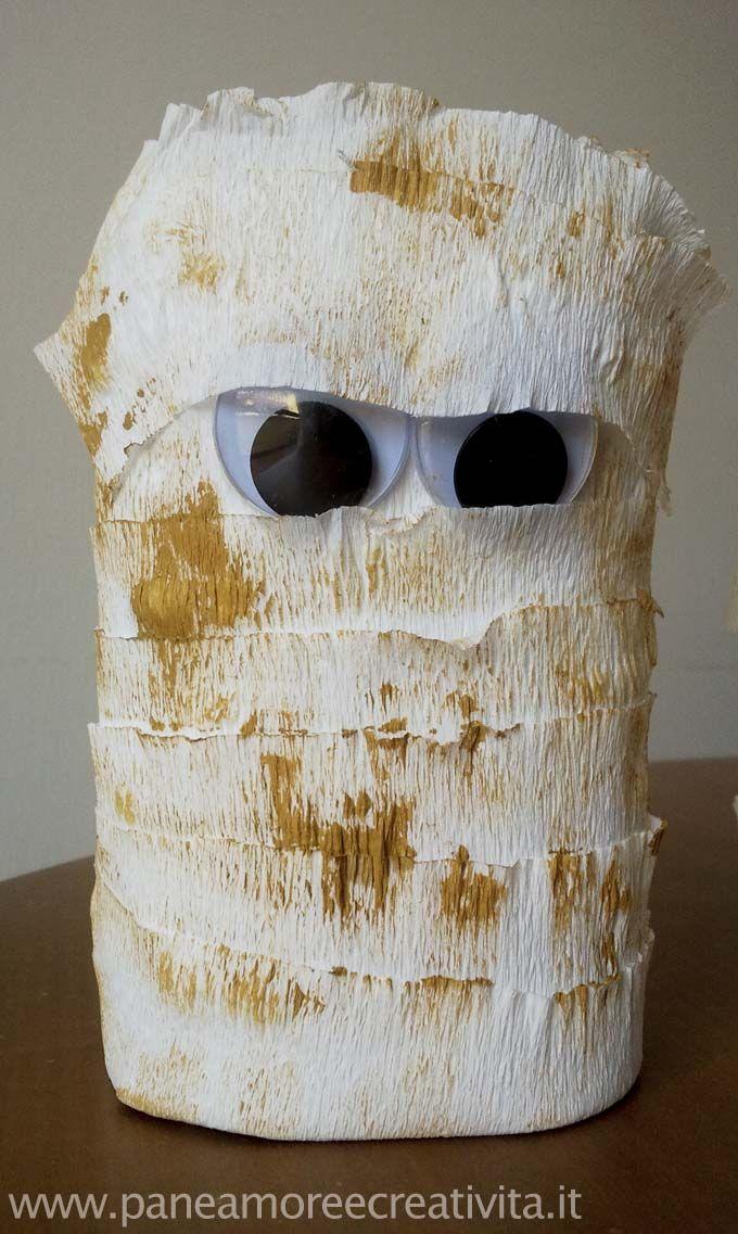Lavoretti di Halloween: come fare le mummie con le bottiglie