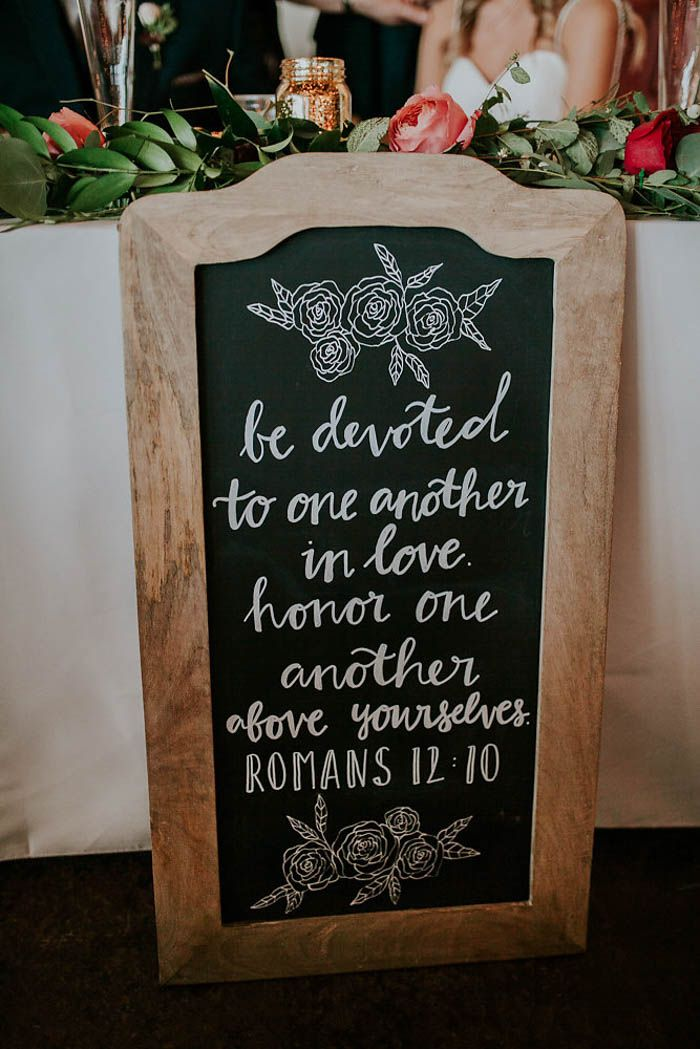 """Be devoted to one another in love. Honor one another above yourselves."" - Romans 12:10 