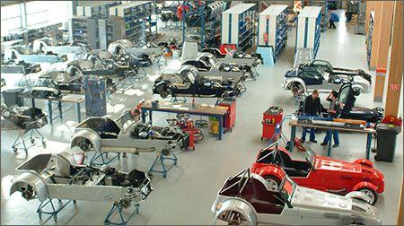 Visit Donkervoort Lelystad more info : http://www.fabrieksuitje.nl/dagtochten/donkervoort-factory-tour