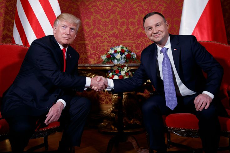 Trump vows to fight fake news with a Polish president who's tried to gag the press - The Denver Post