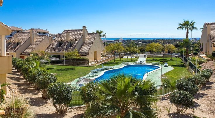 RicaMar Homes Real Estate Costa Blanca | Townhouse in Campoamor Golf