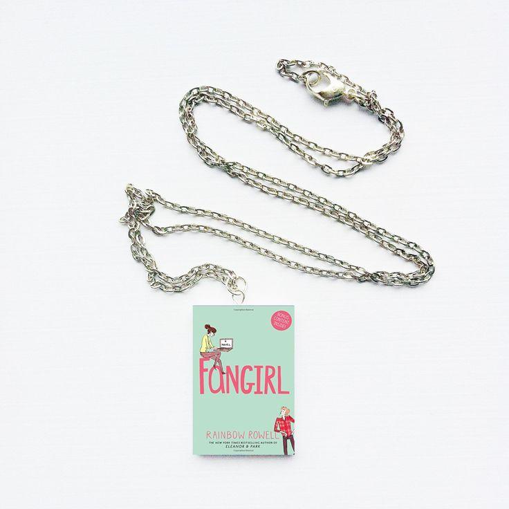 Fangirl by Rainbow Rowell necklace #fangirl #fandom #geek #book #bookish