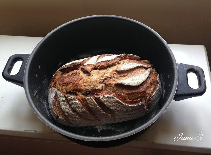 Kváskový chleba z remosky
