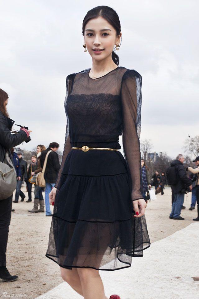 #angelababy #fashionweek