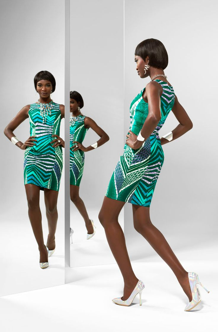 From the archive: a party look from Vlisco's 2013 'Unseen' collection