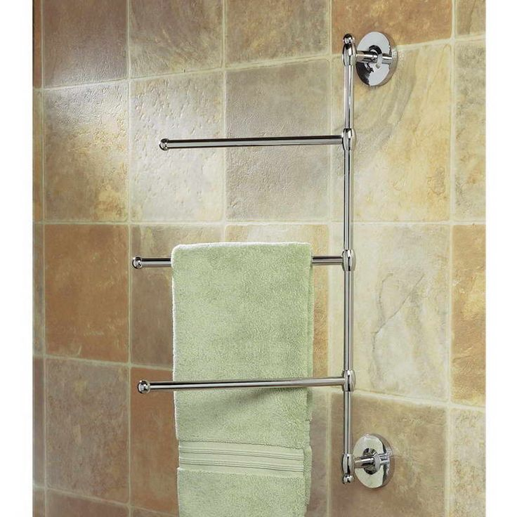 1000 ideas about bathroom towel bars on pinterest throw for Bathroom towel racks