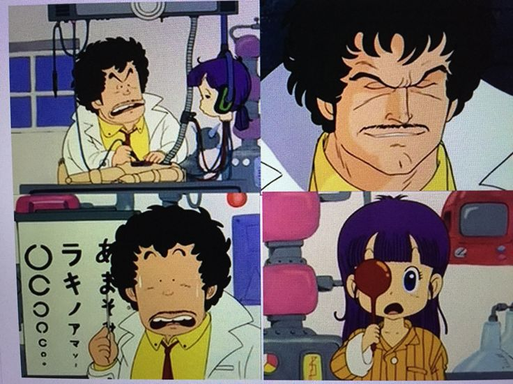 Solo un genio como el Dr Senbei Norimaki es capaz de crear un robot que necesita gafas(^_^)