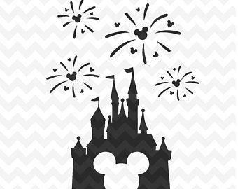 disney castle svg disney castle fireworks svg disney castle with