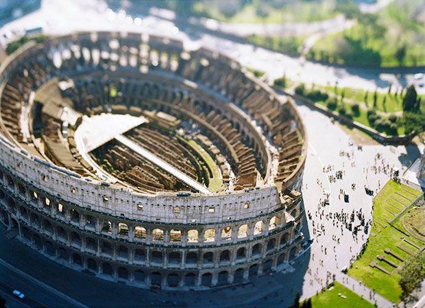 Fotógrafo italiano transforma grandes cidades em miniaturas | #Fotografia, #Miniatura, #OlivoBarbieri, #TiltShift