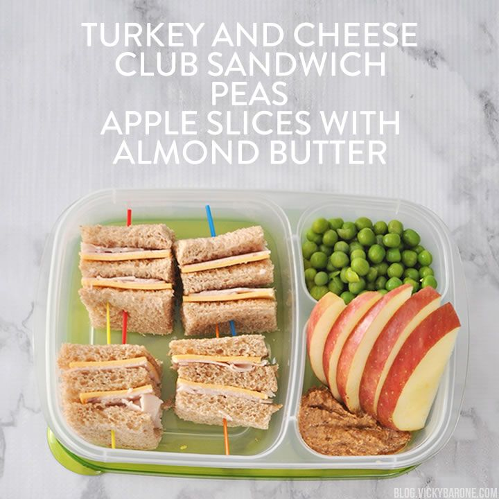 Back to School Packed Lunch Ideas | Vicky Barone