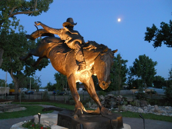 Chris Ledoux Monument in Kaycee Wyoming....I will make the Pilgrimage someday!!!!!!