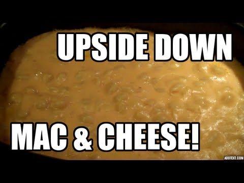 Upside down Macaroni & Cheese - Ninja Cooking System - YouTube