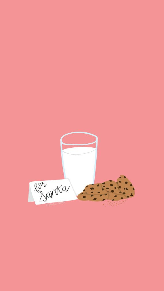 Milk & Cookies Christmas Screensaver Download by artworkbykacie