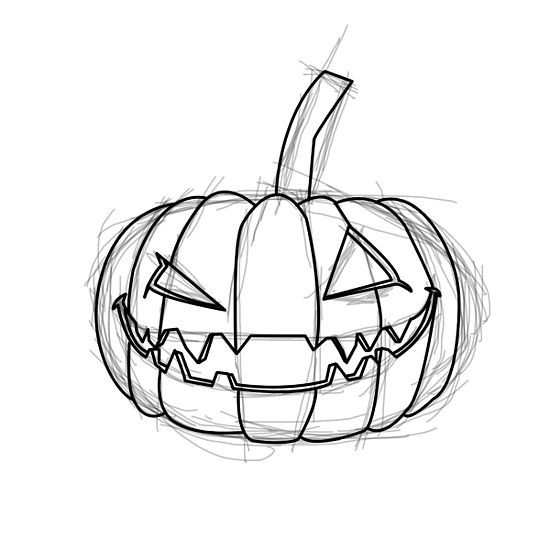 1000 images about halloween drawings on pinterest hotel Awesome pumpkin drawings