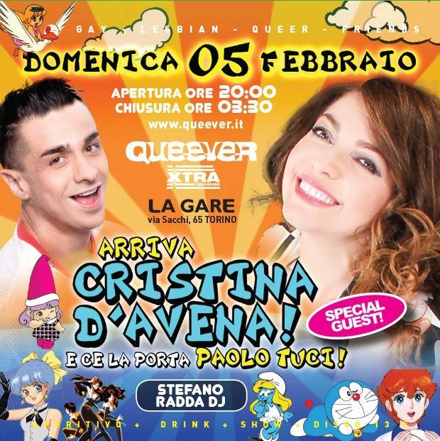 Finalmente ci siamo! L'evento tanto atteso sta arrivando!   Domenica 5 febbraio saliranno sul palco della Gare la mitica   Cristina D'Avena  con [...]