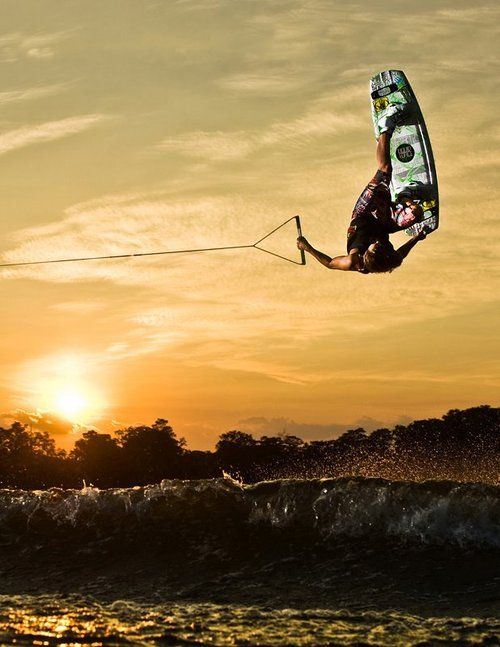 Catch some air - wakeboard