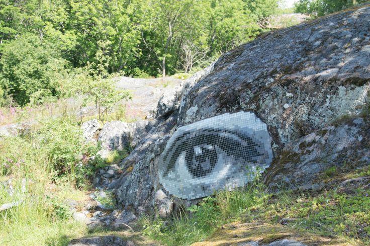 Mosaikkonst, Görvälns slott