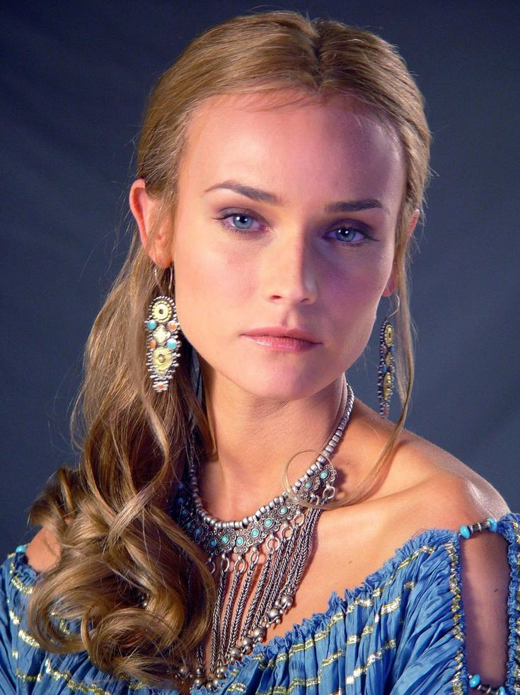 Diane Kruger as Helen of Troy. How beautiful is she.