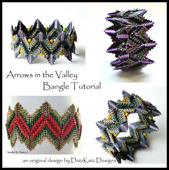 USE COUPON CODE 35GOODBYE TO SAVE 35% ON PURCHASES ALL WEEKEND Arrows in the Valley Bangle Rick Rack dimensional bangle
