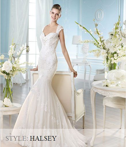San Patrick Wedding Gown - 2014 Costura Collection - Halsey