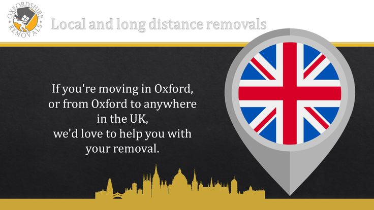 Local and long distance removals. Oxfordshire Removals Man and Van Services