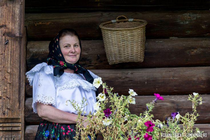 Mărioara, gazda de la Pensiunea Mărioara din Breb