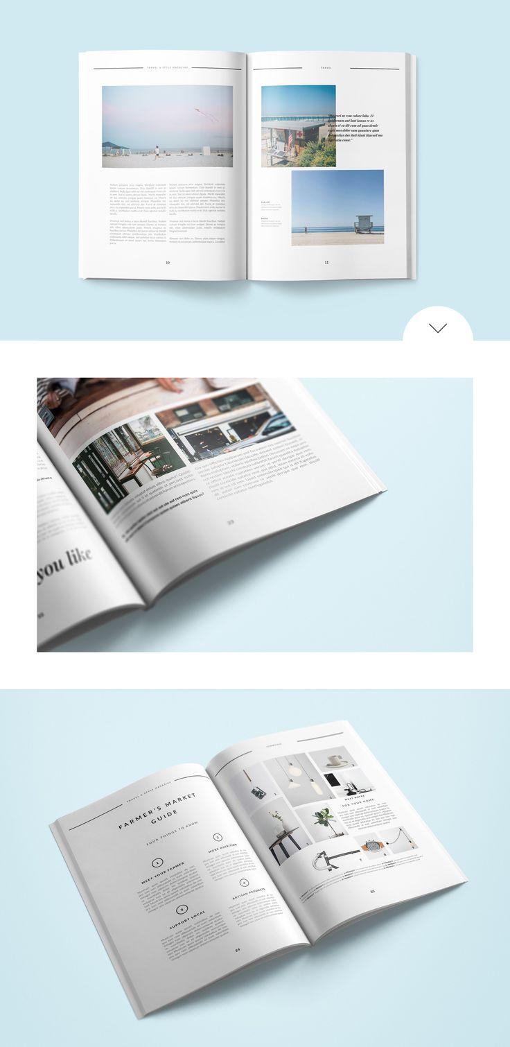 27 besten ✏ Magazine Templates Bilder auf Pinterest | Editorial ...