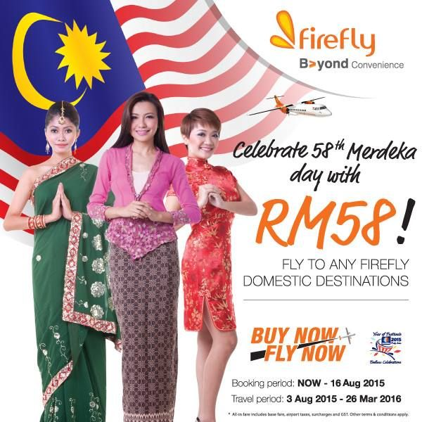 3-16 Aug 2015: Firefly Domestic Destinations Promotion