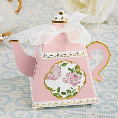 Teapot Favor Boxes - set of 24