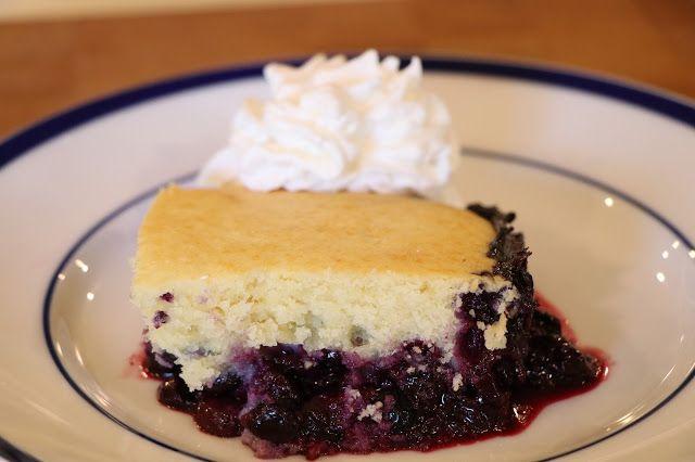 Mennonite Girls Can Cook: Blueberry Cobbler